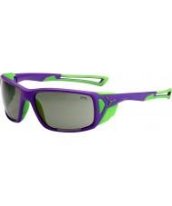 Cebe ProGuide óculos de sol de pico roxo variochrom verde