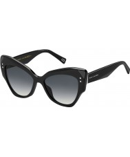 Marc Jacobs Ladies marc 116-s 807 9o óculos de sol pretos