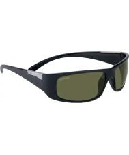 Serengeti Fasano brilhante cetim óculos de sol pretos polarizada phd 555nm