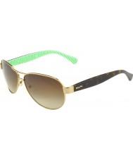 Ralph Ra4096 59 creme de ouro essencial 101-13 óculos de sol