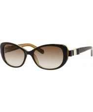Kate Spade New York Ladies Chandra-s y1g y6 havana óculos de sol de ouro