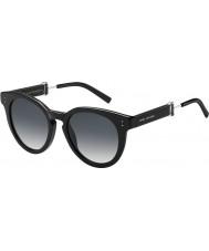 Marc Jacobs Ladies marc 129-s 807 9o óculos de sol pretos