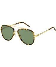 Marc Jacobs Mens marc 136-s lsh dj manchado havana óculos de sol de ouro