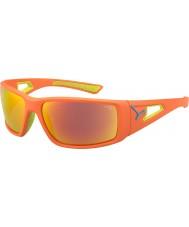 Cebe laranja sessão de cal 1500 óculos de sol laranja cinza espelho