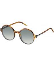 Marc Jacobs Mens marc 48-s TMV VK manchado havana sombreada óculos de sol cinza