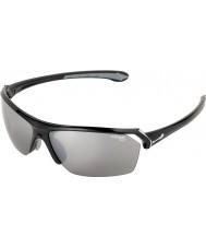 Cebe Selvagens óculos de sol pretos brilhantes