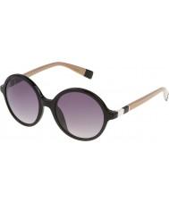 Furla Senhoras lola su4966-700y óculos de sol pretos brilhantes