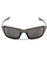 Oakley Oo9238-05 cincos quadrado fumaça cinza - óculos de sol cinza quente