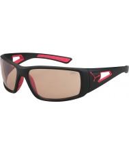 Cebe Sessão mate óculos PERFO variochrom preto vermelho