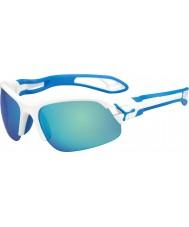 Cebe Cbspring3 s-pring óculos de sol branco azul