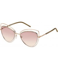 Marc Jacobs Ladies marc 8-s TXA 05 óculos de sol de ouro marrom