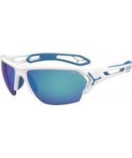 Cebe Cbstl12 s-track óculos de sol brancos