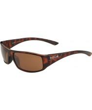 Bolle Weaver tartaruga brilhante polarizada A-14 óculos de sol