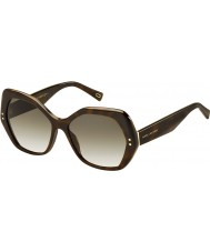 Marc Jacobs Ladies marc 117-S zy1 cc havana óculos de sol