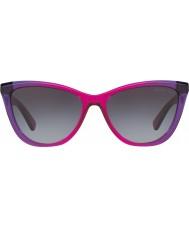 Michael Kors Mk2040 57 divya violeta inclinação roxo 322011 óculos de sol