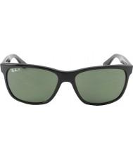 RayBan Rb4181 57 highstreet 601-9a preto óculos polarizados