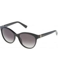 Nina Ricci Senhoras snr003-700 brilhantes óculos de sol pretos