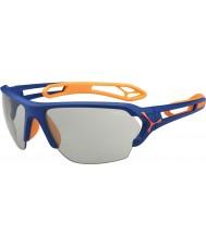 Cebe S-track grande mate azul laranja óculos variochrom PERFO