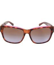 Michael Kors Mk6003 58 Salzburg tartaruga rosa roxo 300368 óculos de sol