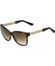 Jimmy Choo Senhoras cora-S FA5 jd havana brilho óculos de sol