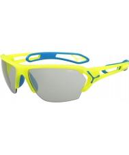 Cebe S-track grandes pro neon óculos PERFO variochrom amarelo