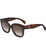 Celine Ladies cl 41805-s 05L ha de tartaruga óculos de sol