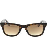 RayBan RB2140 50 wayfarer originais concha de tartaruga 902-51 óculos de sol