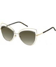 Marc Jacobs Ladies marc 8-s apq ha de ouro óculos escuros havana
