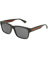 Gucci Mens gg0340s 006 58 óculos de sol