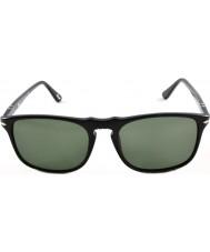 Persol Po3059s 54 Suprema preto 95-31 óculos de sol