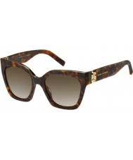 Marc Jacobs Senhoras marc 182-s 086 ha óculos de sol