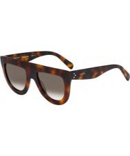 Celine Ladies cl 41398-S 05L z3 havana óculos de sol