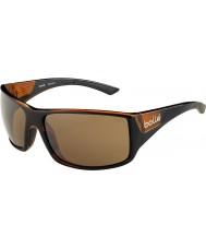 Bolle 12134 óculos de sol marrons tigersnake