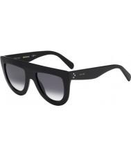 Celine Ladies cl 41398-s W2 807 óculos de sol pretos