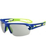 Cebe S-track azul médio escuras variochrom verde óculos de sol PERFO