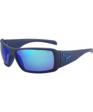 Cebe Utopia mate azul espelho 1500 do flash cinza azul óculos de sol