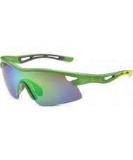 Bolle Edição limitada vortex Orica óculos de sol esmeralda verde marrom