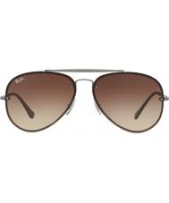RayBan Rb3584n 61 00413 blaze aviator sunglasses