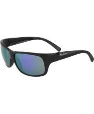 Bolle Viper preto fosco óculos de sol azuis-violeta