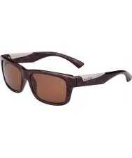 Bolle Jude tartaruga brilhante polarizada A-14 óculos de sol