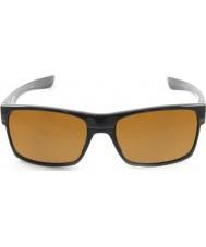Oakley Oo9189-03 Twoface preto polido - óculos escuros bronze