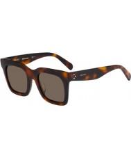 Celine Ladies cl 41411-fs 05L x7 havana óculos de sol