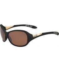 Bolle Graça fosco óculos preto arma polarizada arenito