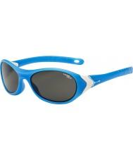 Cebe Cricket (idade 3-5) Matt ciano brancas 1500 cinza óculos de sol luz azul