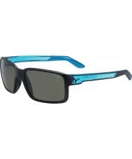 Cebe Cara matt preto cristal óculos de sol azuis