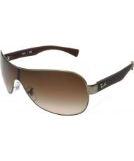 RayBan Rb3471 32 jovem fosco bronze de canhão 029-13 óculos de sol