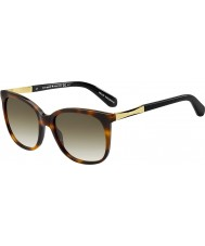 Kate Spade New York Ladies Julieanna-s crx cc Dark Havana óculos de sol de ouro