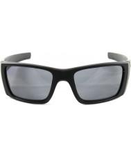 Oakley fosco célula de combustível Oo9096-05 preta - cinza óculos polarizados