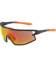 Bolle B-rocha mate óculos de fogo preto e laranja TNS