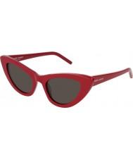 Saint Laurent Senhoras sl 213 lírio 004 52 óculos de sol